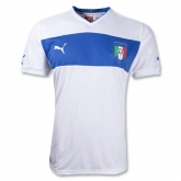 2012 Italy Away White Replica Soccer Jersey Shirt