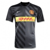 Manchester United Black Tranning T-Shirt Replica