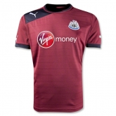 12-13 Newcastle United Away Soccer Jersey Shirt