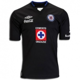 2013 CDSC Cruz Azul Away Black Soccer Jersey Shirt