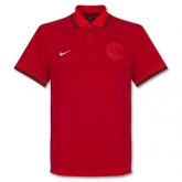 2013 Manchester United Grand Slam Red Polo T-Shirt