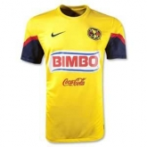 12/13 Club America Aguilas Home Yellow Soccer Jersey Shirt Replica