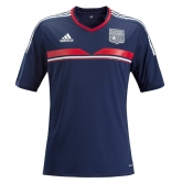 13-14 Olympique Lyonnais Away Navy Jersey Kit(Shirt+Short)