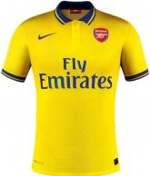 13-14 Arsenal Away Yellow Jersey Shirt