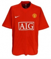 06-08 Manchester United Home Soccer Jersey Shirt