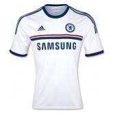 13-14 Chelsea White Away Soccer Jersey Shirt Replica