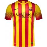 13-14 Barcelona Away Soccer Jersey Shirt