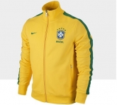 2013 Brazil N98 Yellow Track Jacket
