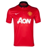 13-14 Manchester United Home Jersey Shirt(Player Version)