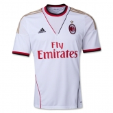 13-14 AC Milan Away White Whole Kit(Shirt+Short+Socks)