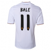 13-14 Real Madrid #11 Bale Home Jersey Shirt