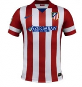 13-14 Atletico Madrid Home Children's Jersey Kit