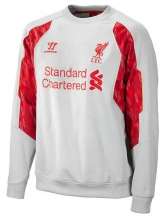13-14 Liverpool Gray Long Sleeve Crew Sweatshirt
