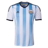2014 Argentina Home Soccer Jersey Shirt(Player Version)