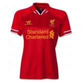 13-14 Liverpool Home Women's Soccer Jersey Shirt