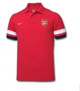 12-14 Arsenal Red Polo T-Shirt