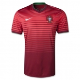 2014 Portugal Home Red Jersey Kit(Shirt+Short)