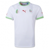 2014 World Cup Algeria Home White Soccer Jersey Shirt