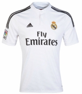 14-15 Real Madrid Home Soccer Jersey Shirt