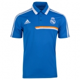 2014 Real Madrid Blue Core Polo T-Shirt