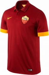 14-15 Roma Home Soccer Jersey Shirt