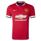 14-15 Manchester United Home Jersey Shirt