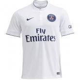 14-15 PSG Away White Soccer Jersey Shirt(Player Version)