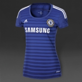 14-15 Chelsea Home Women's Blue Jersey Shirt