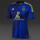 14-15 Ajax Away Navy Soccer Jersey Shirt