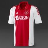 14-15 Ajax Home Soccer Jersey Shirt
