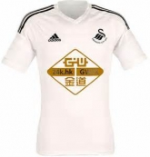 14-15 Swansea City Home White Jersey Shirt