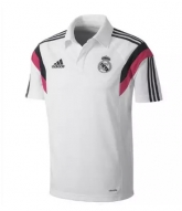 2015 Real Madrid White Core Polo T-Shirt