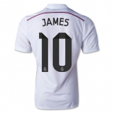 14-15 Real Madrid James #10 Home Jersey Shirt