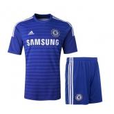 14-15 Chelsea Blue Home Soccer Jersey Kit(Shirt+Short)