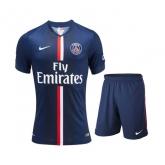 14-15 PSG Home Soccer Jersey Kit(Shirt+Short)
