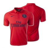 14-15 PSG Away Red Soccer Jersey Shirt(Player Version)