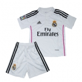 14-15 Real Madrid Home Children's Jersey Kit
