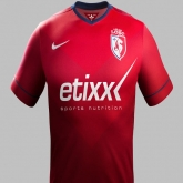 14-15 Lille OSC Home Red Jersey Shirt(Player Version)