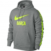 14-15 Barcelona Gray Hoody Sweater