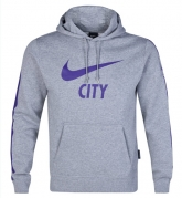 14-15 Manchester City Gray Hoody Sweater
