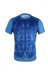 Colourful Camouflage Soccer Short Sleeve Skintight Under Shirt Model No.20