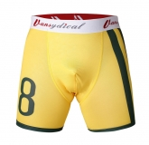 Colourful Brazil Yellow Soccer Base Layer Under Short Model No.12