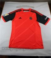 14-15 Real Sociedad Away Orange Soccer Jersey Shirt
