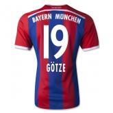 14-15 Bayern Munich GÖTZE #19 Home Jersey Shirt