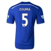 14-15 Chelsea Zouma #5 Home Soccer Jersey Shirt