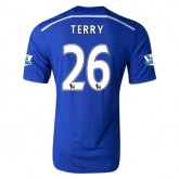 14-15 Chelsea Terry #26 Home Soccer Jersey Shirt