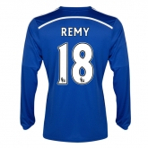14-15 Chelsea Remy #18 Home Long Sleeve Jersey Shirt