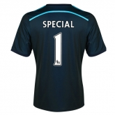 14-15 Chelsea Special #1 Away Navy Soccer Jersey Shirt