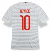 14-15 Inter Milan Kovačić #10 Away White Jersey Shirt