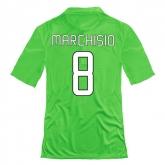 14-15 Juventus Marchisio #8 Away Green Jersey Shirt